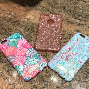 Iphone 6s cases. Lilly Pulitzer and Shimmer